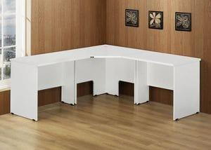 3 Piece Corner Workstation