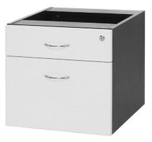 Logan 1+1 Drawer Fixed Pedestals