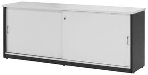 Logan Sliding Door Credenzas