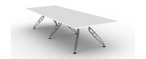 Trapeze Boardroom Table Frame