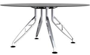 Trapeze 4 Leg Meeting Table Frame