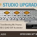 4 July 2016: Universal Audio 4710d Studio Upgrade promo