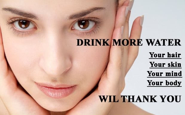 Your Skin and drinking Water