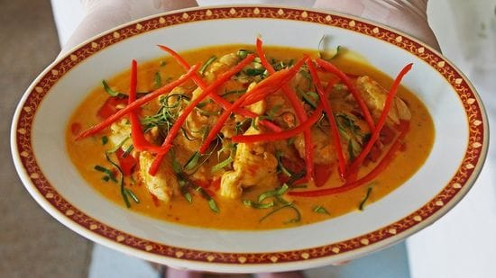 Panang Gai - Chicken in Red Curry