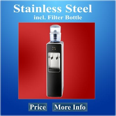 Alkaline Water Dispenser Exclusive Stainless Steel