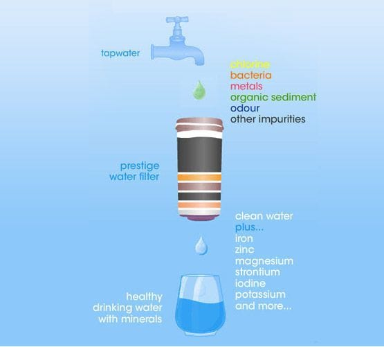 Water Filter Bottle for Water Cooler