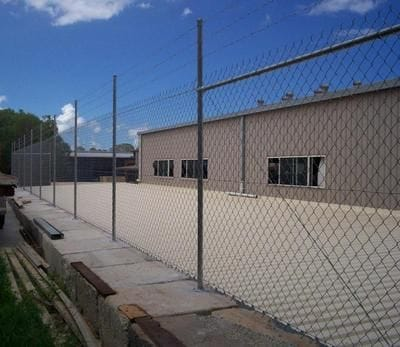 Industrial Chain Wire Fencing