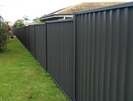 Colorbond & Steel Fence