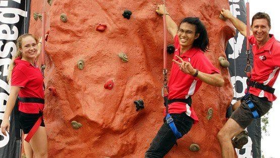 Base Zero Mobile Rock Climbing