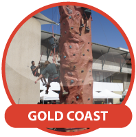 Christmas Party Hire Gold Coast - Mobile Rock Climbing Wall