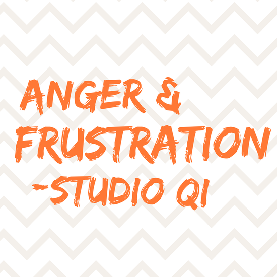 Stress: anger & frustration