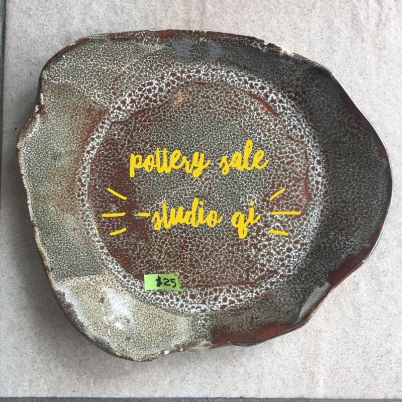 Christmas pottery sale