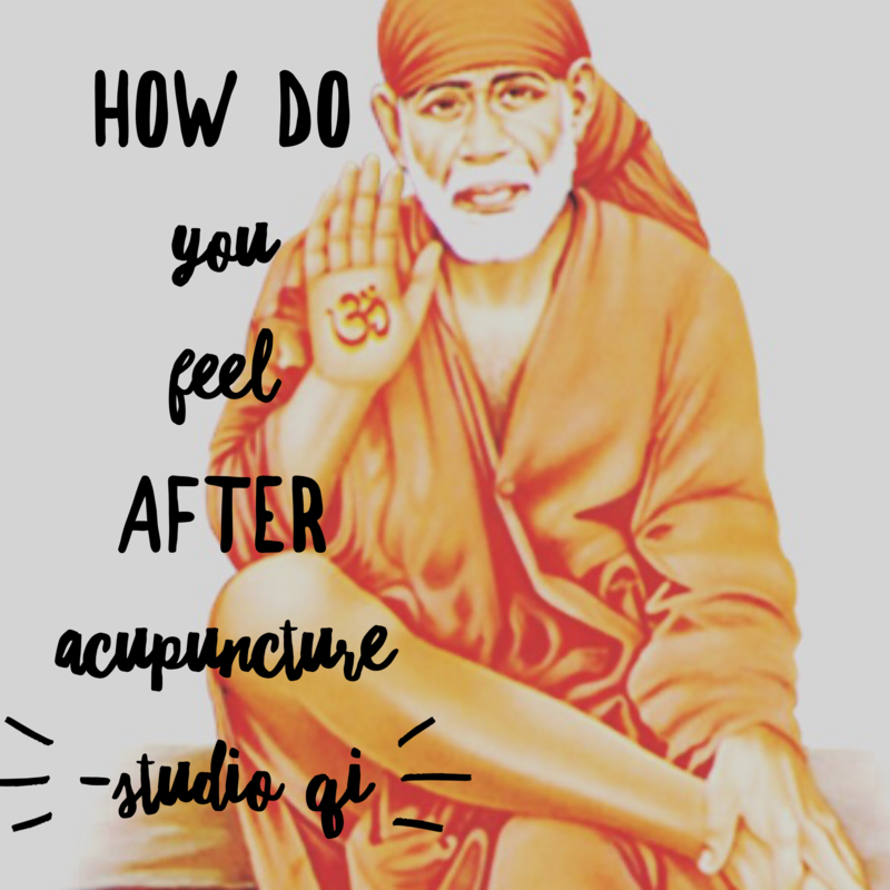 How do you feel after Acupuncture?