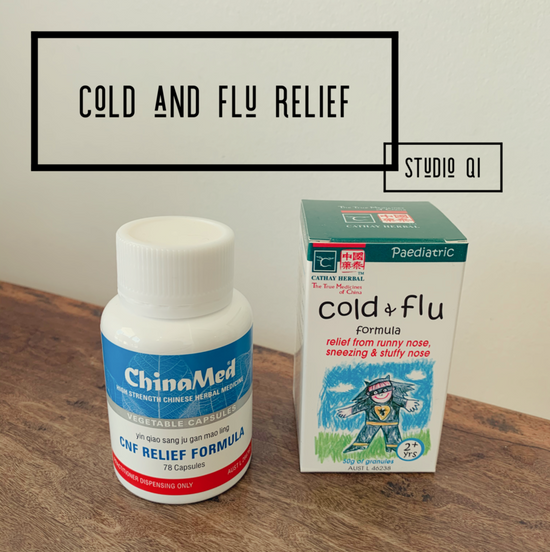 cold and flu relief