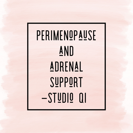 Perimenopause and adrenal support