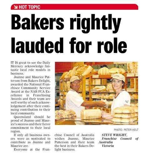 Bakers rightly lauded for role