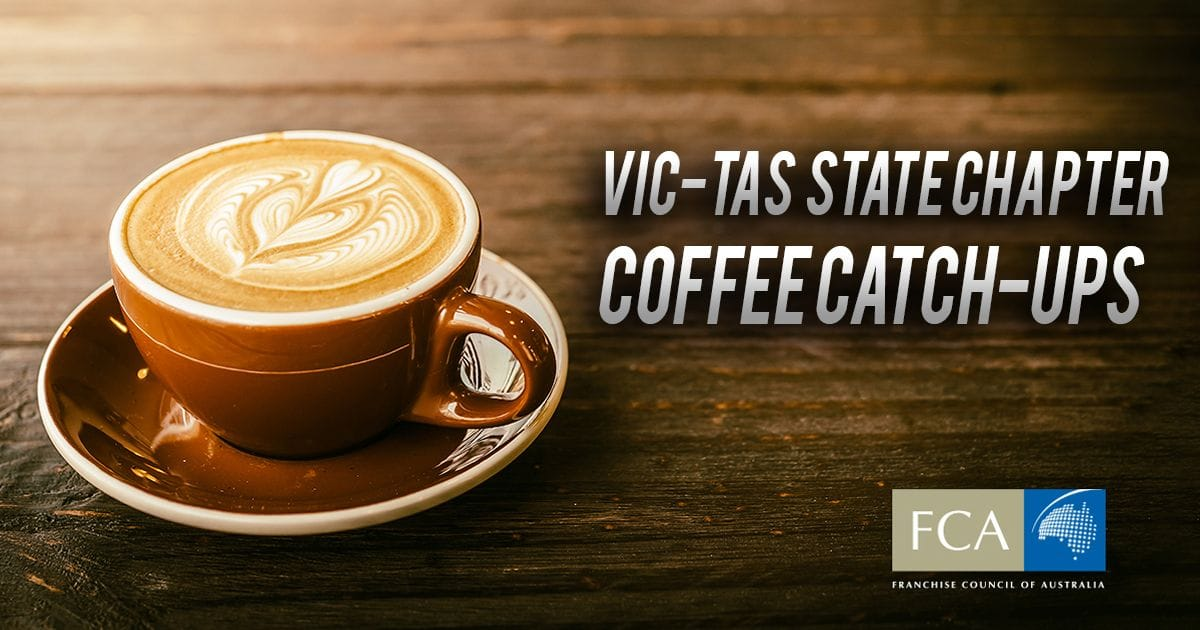 VIC-TAS Coffee Catch-Up: Relevance of a Field Team 7/8/2018
