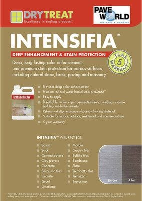 DryTreat Intensifia Brochure