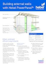 Hebel PowerPanelXL Trade Flyer | Pave World Melbourne