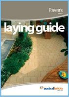 Laying guide for pavers