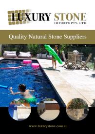 Luxury Stone Product Catalogue