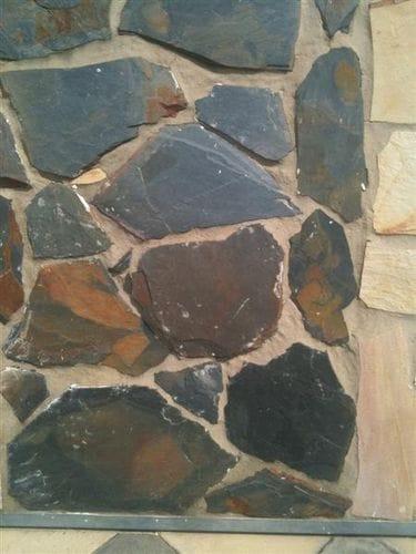 Black Limestone Crazy Pave