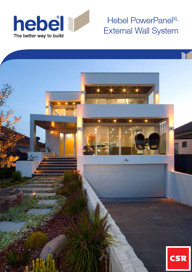 Hebel lightweight concrete building guide