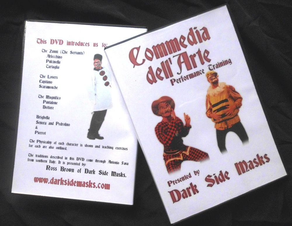 Commedia Training DVD