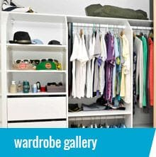 Built in wardrobes catering to any shape, size and budget