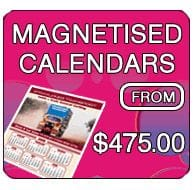Magnetised Calendars