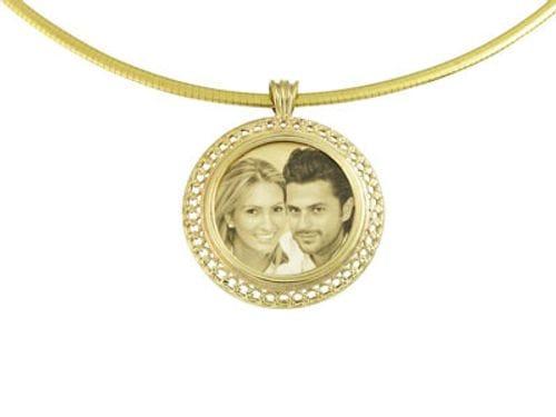 Related Image Designer Italian Round Gold Pendant