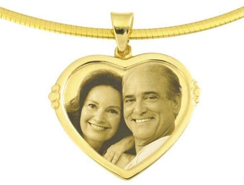 Main Image Designer Heart Gold Pendant