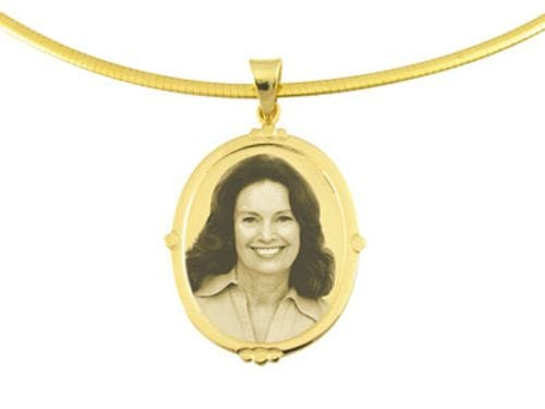 Related Image Designer Oval Gold Pendant