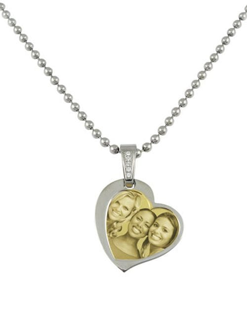 Related Image Contemporary Heart (no cover) Pendant