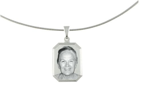 Related Image Classic Rectangle Pendant