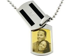 Contemporary Rectangle (with cover) Pendant