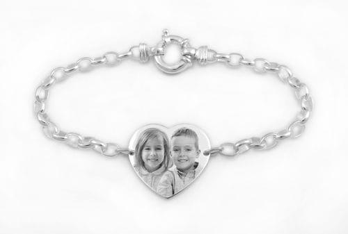 Main Image Silver Heart Bracelet