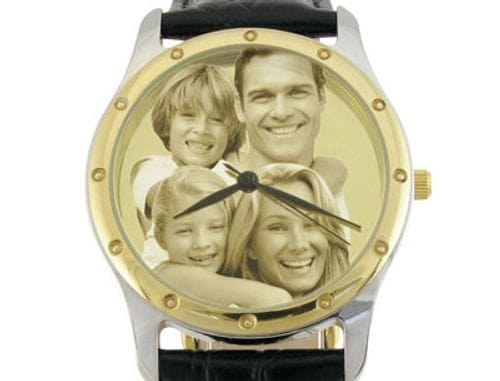 Main Image Image Watch 2 Tone Leather Gents or Ladies