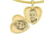 Locket Heart 9ct Yellow Gold