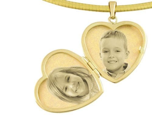 Main Image Locket Heart 9ct Yellow Gold