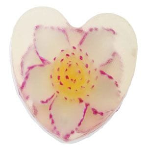 Heart Soap with Seerose