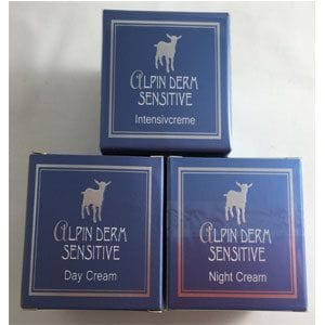 Alpin Derm Sensitive Face Cream Pack