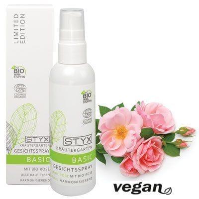 Herb Garden Basic Face Spray with Rose 100ml