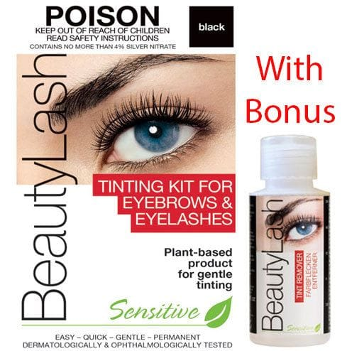 BeautyLash Sensitive Tint Kit Black