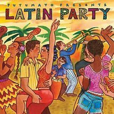 Latin Party music cd