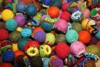 Felt balls - mixed