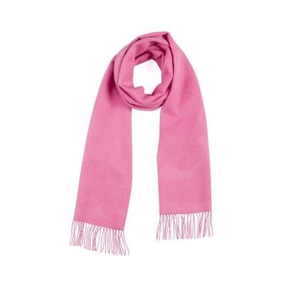 Candy pink  100% baby alpaca scarf