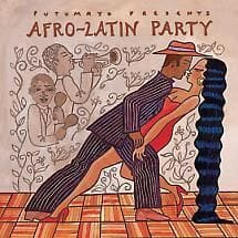 Afro-Latin party music cd