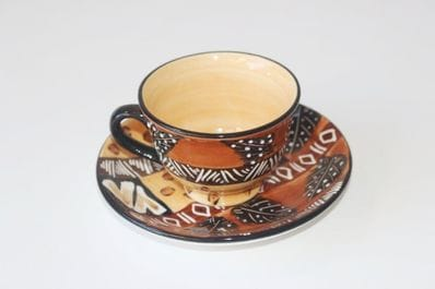 Africa patterns - Tea Cup and saucer