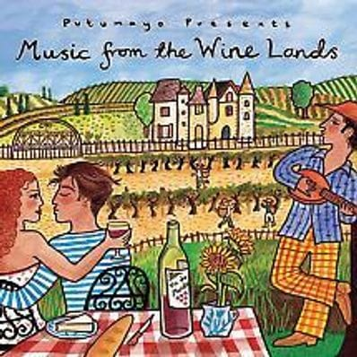 Music from the Wine Lands cd